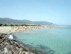 Het Strand van Malia is het mooiste zandstrand van Kreta.