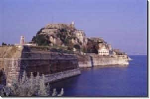 Het Kasteel in Corfu